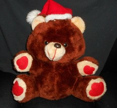 VINTAGE MTY CHRISTMAS ELECTRONIC MUSICAL TEDDY BEAR STUFFED ANIMAL PLUSH... - $64.52