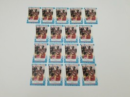 1989 Fleer All Star Stickers Akeem Olajuwon #2 Basketball Cards Lot of 1... - $24.18