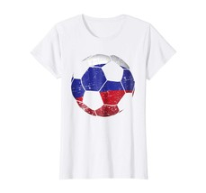 Sport Shirts - Russia Soccer Ball Flag Jersey Shirt - Russian Football G... - $19.95+