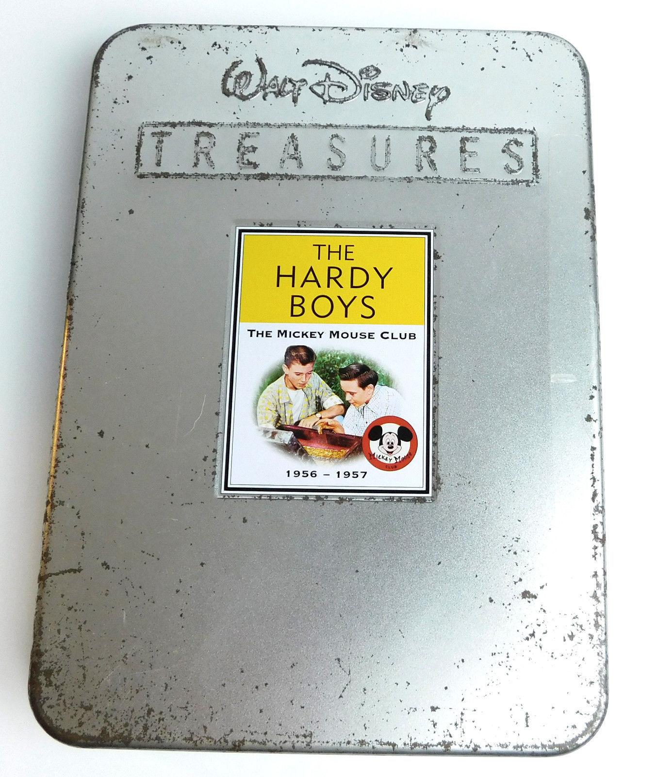Walt Disney Treasures Hardy Boys 1956-1957 Mickey Mouse Club 2 DVD w/ COA