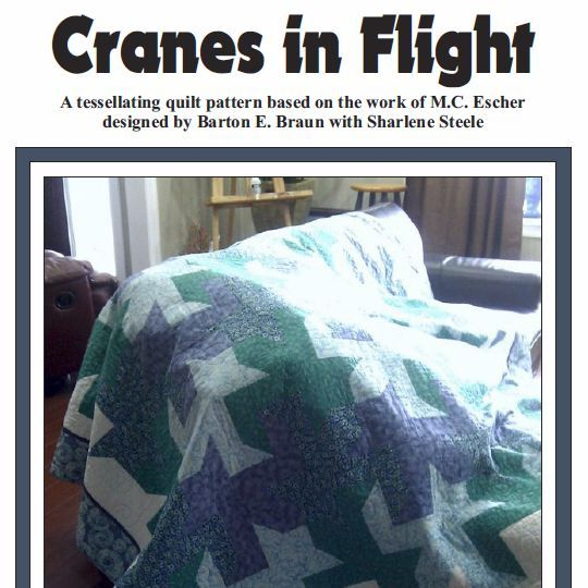 Primary image for Cranes in Flight Quilt Pattern