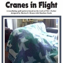 Cranes in Flight Quilt Pattern - $7.49
