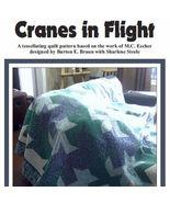 Cranes in Flight Quilt Pattern - $7.49