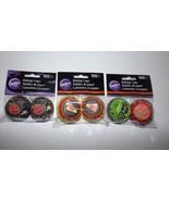 Wilton Mini Baking Cups 3 -100 Count Pkgs Jing Spider Candy Corn Happy H... - $6.89