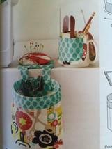 Kwik Sew Sewing Patterns 3886 Pouch Pincushion Cup Organizer New - $14.85