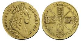 1696 Half-guinea William III Elephant and Castle gold coin - $1,914.00