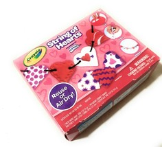 Crayola String Of Hearts Craft Kit Powered By Model Magic For Ages 5+ NEW - $9.56