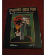 (BK-1) 1989 Marvel Comics - Wolverine & Nick Fury - The Scorpio Connecti... - $15.00