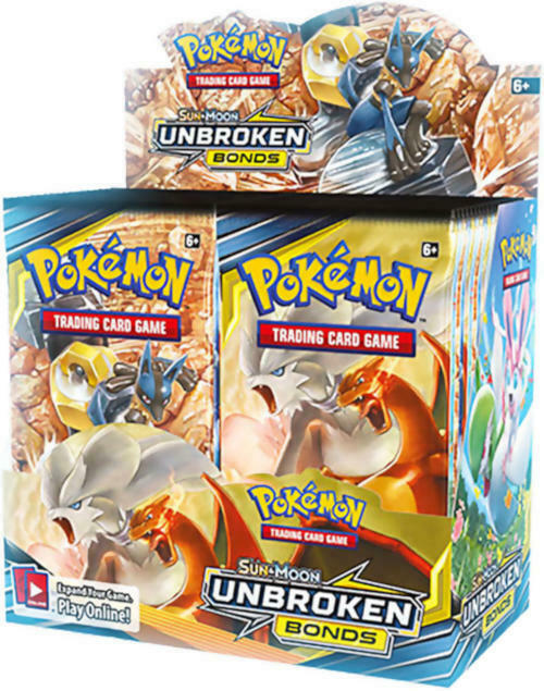 Pokemon TCG Sun & Moon Unbroken Bonds + Lost Thunder Booster Box Bundle image 2