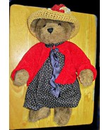 Eleanor Bearsevelt Teddy Bear by Boyds 16 Inches Jointed - $9.95