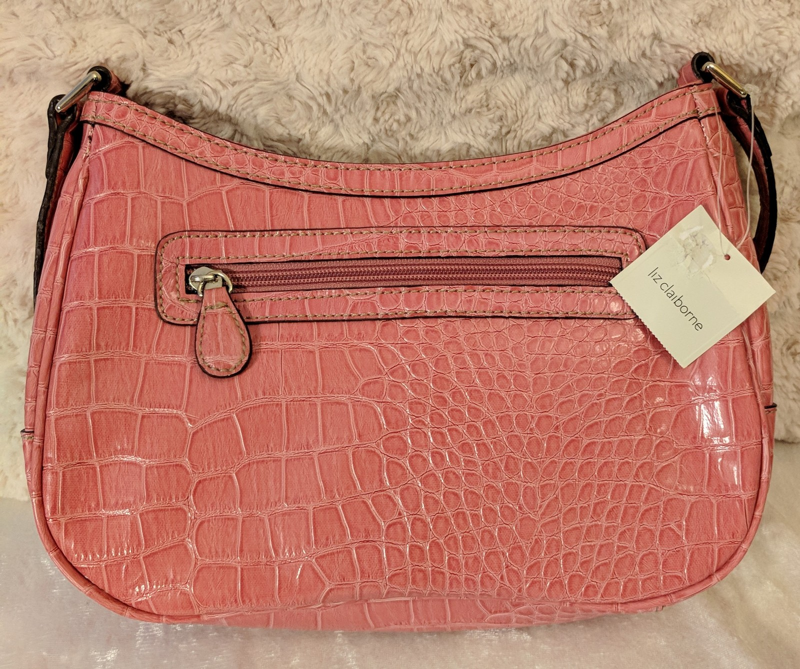 NWT Liz Claiborne Small Pink Purse Shoulder and 40 similar items. Img  20171104 182017 295c04eb52830