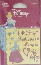 Plaid Disney Princess Brass Stencil