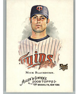 2008 Topps Allen and Ginter #253 Nick Blackburn RC Rookie Minnesota Twins - $0.99