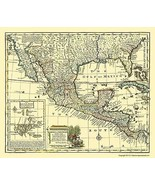 Mexico New Spain - Bowen 1747 - 23.00 x 27.21 - $36.58+