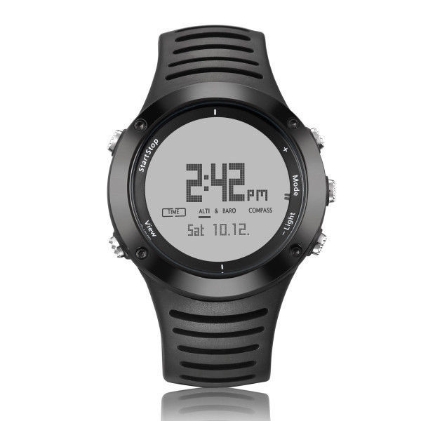 Men Sports Hiking Climbing Digital Watch Altimeter Barometer Compass Wristwatch