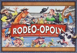 Rodeo-Opoly Monopoly Board Game by Late for the Sky - $26.98
