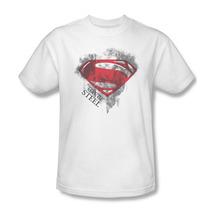 Superman DC Man Of Steel Graphic T'shirt Action Comics Batman Superhero SM2058 image 2