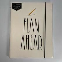 """Rae Dunn """"Plan Ahead"""" Pencil 12-Month 2021 Planner Ivory 9.5 x 7.5 Jan-D... - $6.13"""
