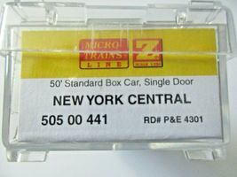 Micro-Trains # 50500441 New York Central 50' Standard Boxcar Z-Scale image 4