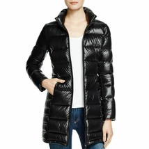 Aqua Women's Black Puffer Packable Fall/Winter Coat Jacket size Small New w Tags image 2