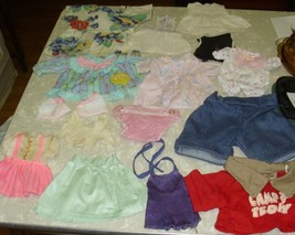 Lot of 14 Vintage Doll Clothing pcs. Troll Doll Vintage diaper dresses L... - $19.59