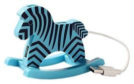 Creative Blue Zebra USB HUB High-Speed USB 2.0 4-Port USB Hubs with 10cm... - $20.34