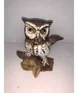 "Vintage HOMCO Ceramic Owl #1114  5 1/4"" - $7.50"