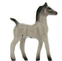 Hagen Renaker Miniature Horse Tiny Gray Colt Ceramic Figurine image 5