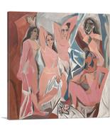 ARTCANVAS Les Demoiselles d'Avignon 1907 Canvas Art Print by Pablo Picasso - $41.99+