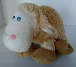 """Commonwealth Plush Baby Lamb Sheep 13"""" Plush Stuffed Soft Toy Sewn Blue ... - $12.79"""
