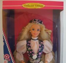 NORWEGIAN BARBIE Barbie Dolls of the World NRFB #14450 DOTW Superstar Face - $24.99