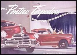 1942 Pontiac Prestige 6 & 8 Brochure Torpedo Fleet Streamliner BIG - $43.56