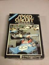 Avalon Hill Sports Illustrated Speed Circuit Bookshelf Game Vintage (d23) - $46.74