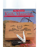 May 1992,  NATIONAL KNIFE MAGAZINE, Pre-owned, very good plus condition - $8.50