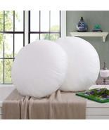 40/45cm Non-woven Fabrics PP Cotton Round Pillow Inner White Cushion Int... - $9.49+