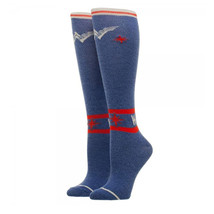 Wonder Woman Knee High Socks Blue - $14.98