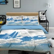 3D Sunshine White Cloud KER2478 Bed Pillowcases Quilt Duvet Cover Double... - $72.00+