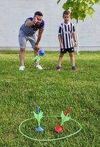 Lawn Darts Game – Glow in The Dark, Outdoor Backyard Toy for Family Fun, Parents image 4