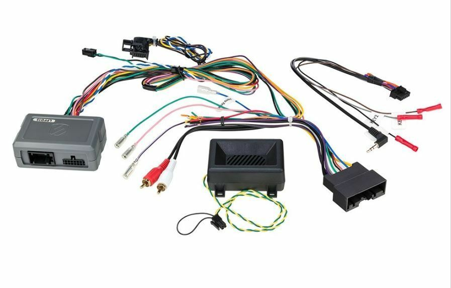 Scosche LPFD15 2012+Ford Interface w/Steering Wheel Control Retention