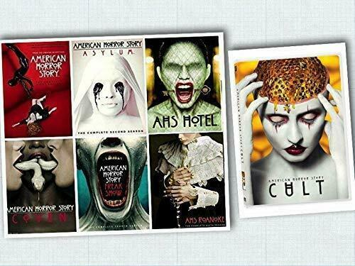 American Horror Story The Complete Series Season 1 2 3 4 5 6 & 7 [DVD Sets New]