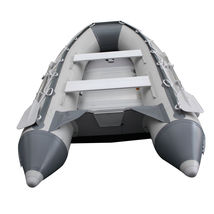 10.8 ft Inflatable Boat Raft Fishing Dinghy Tender Pontoon+ FREE Launching wheel image 7