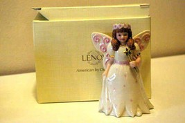 Lenox 2012 Girl In Fairy Costume Figurine NIB - $17.32