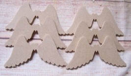 4mm MDF Angel Wings  100mm Craft Blank  QTYS 5,10,15, 25 - $2.38+