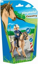 PLAYMOBIL Mounted Police Building Figure - $13.54