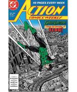 Action Comics Comic Book #602 Superman DC Comics 1988 NEAR MINT NEW UNREAD - $4.99