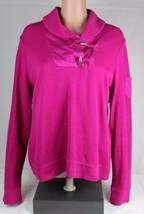 Lauren Ralph Lauren Donna Top Camicia Fucsia Cotone Taglia XL - $17.90