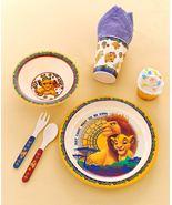 Disney Licensed 5 Piece Kids Dinnerware Set Lion King or Toy Story 4 - $24.95