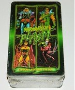 Warriors of Plasm Zero Issue Special Ed Trading Card Set 1993 SEALED TIN... - $9.74