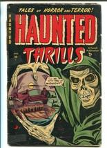 HAUNTED THRILLS #2 1952-AJAX-SKELETON-PRE-CODE HORROR-GRAVE YARD-L B COL... - $148.99
