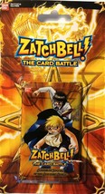 2005 Zatchbell The card Battle Supreme Power of the Golden Spell Pack NI... - $1.89